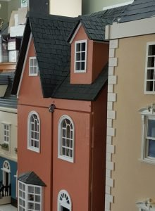 Dolls House Frontages for new blog and website