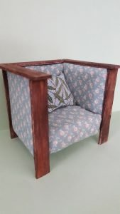 Miniature Arts and Crafts Chair