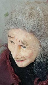Miniature Old Woman