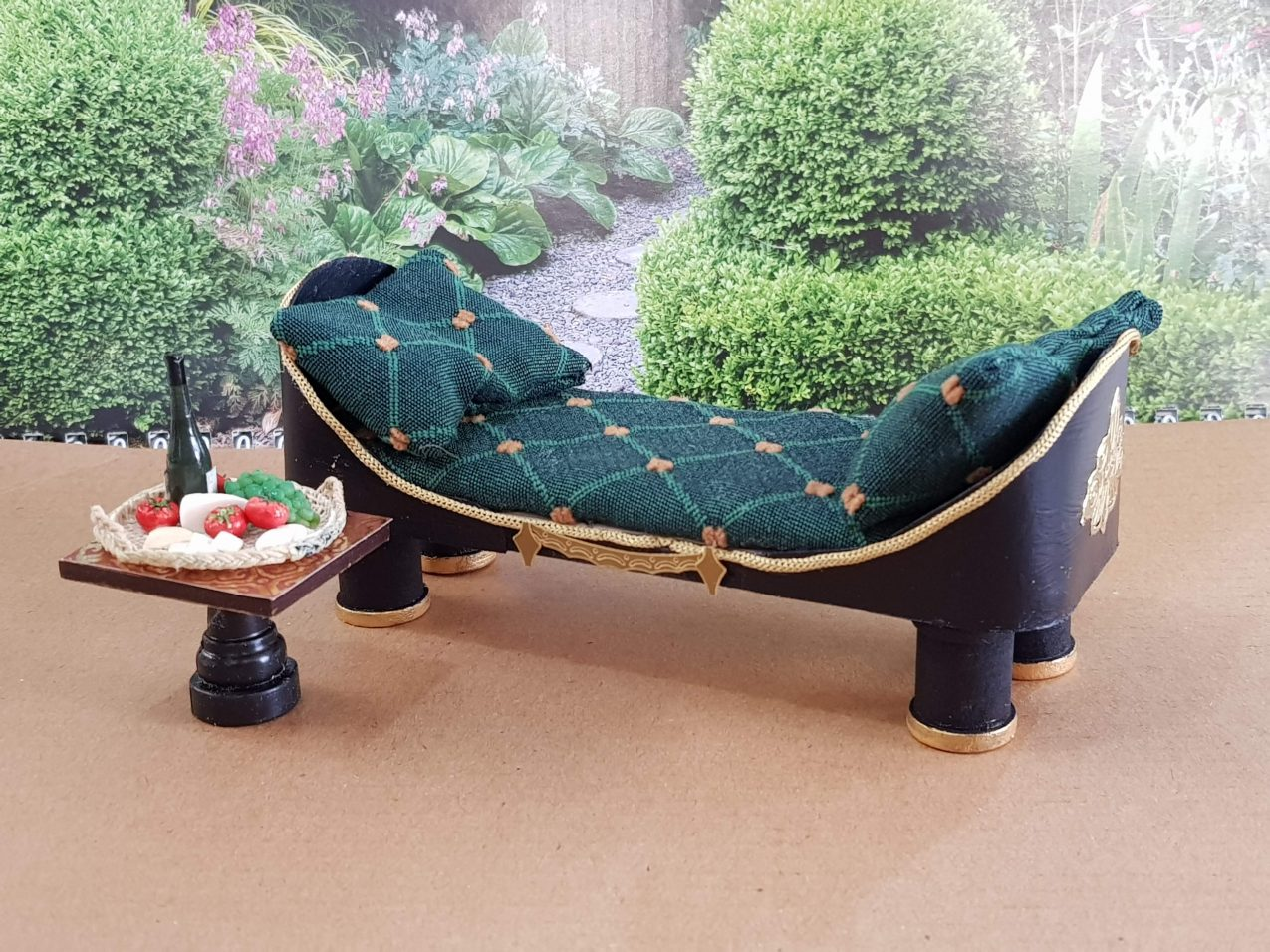 12th Scale Chaise Lounge